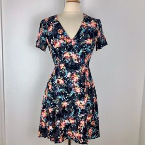 French Connection Dress 6 Small Floral Sundress